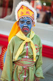 Art sur le visage ou l'Angkor Photo libre de droits