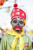 Art sur le visage ou l'Angkor Photographie stock libre de droits