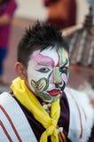 Art sur le visage ou l'Angkor Photos stock
