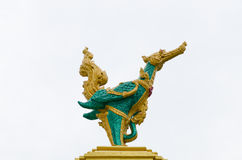 The art of swan statue Royalty Free Stock Photography