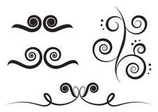 Art swirl Stock Image