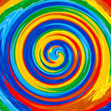 Art swirl rainbow splash color paint abstract background Royalty Free Stock Photos