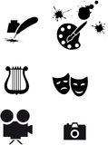 Art symbols Stock Images