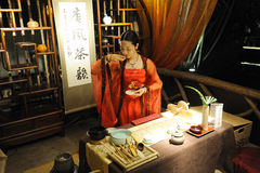 The Art Of Tea in Chinese Tang Dynasty Stock Photo
