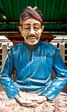 Art at temple in Jogjakarta, (male) Royalty Free Stock Photography