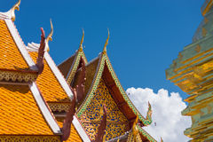 Art of temple Wat Phra That Doi Suthep Royalty Free Stock Image