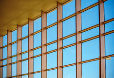 Art texture large glass windows Stock Photo