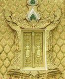 Art thaïlandais chez Nong HU Ling Temple image libre de droits
