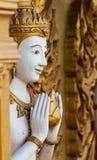 Art thaïlandais sur le mur Photographie stock