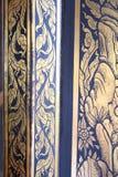 Art thaïlandais sur le temple plubic Images libres de droits