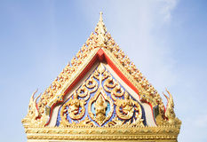 Art of Thai Lanna at Pattani province. Stock Photography