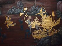 Art thai painting Royalty Free Stock Photo