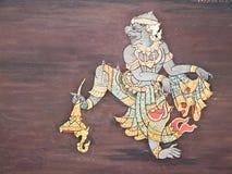 Art thai painting Stock Photography