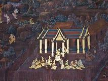 Art thai painting Royalty Free Stock Image