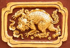 Art Thai Pattern imagem de stock royalty free