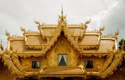 Art Thai Pattern. Thai Buddhist Temple of worship in Buddhism Thailand stock photo