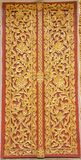 Art Thai Pattern. Thai art and pattern for temple in Chiang Rai Thailand royalty free stock photos