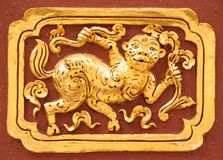 Art Thai Pattern. Thai art and pattern for temple in Chiang Rai Thailand stock photos