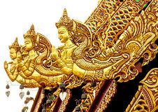 Art Thai Pattern. Thai art and pattern for temple in Chiang Rai Thailand royalty free stock image