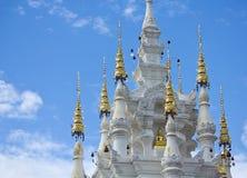 Art of Thai temple Stock Photo