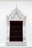 Window of thai temple Stock Photo