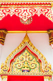 Art of Thailand. Art of temple in Thailand Stock Images