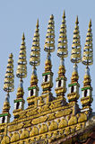 Art of Thatluang Temple Roof Royalty Free Stock Image