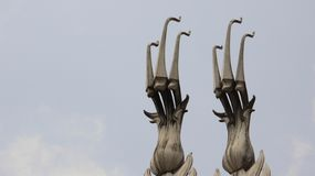 Art Three Headed Swan stock fotografie