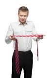 Art of tie Royalty Free Stock Image
