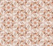 Art tiled background. Abstract beige floral geometric Seamless Texture. Abstract Floral Seamless Vector Background Texture. Floral texture. Lacy geometric stock illustration