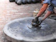 Art traditionnel de poterie Image libre de droits