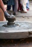 Art traditionnel de poterie Photographie stock