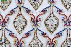 Art traditionnel thaïlandais de stuc Images stock