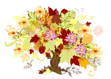 Art tree background. Art tree beautiful for your design.  Autumn Royalty Free Stock Photos