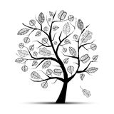 Art tree beautiful Royalty Free Stock Photography