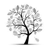 Art tree beautiful Royalty Free Stock Photography