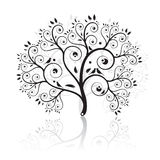Art tree beautiful Royalty Free Stock Images