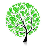 Art tree beautiful for your design Royalty Free Stock Image