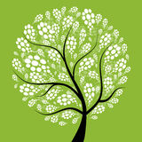 Art tree beautiful for your design Royalty Free Stock Photos