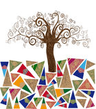 Art tree concept Royalty Free Stock Photography