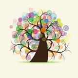 Art tree fantasy Stock Photos
