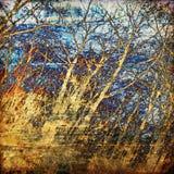Art tree grunge background. Art tree grunge colorful background Royalty Free Stock Photography