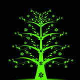 Art tree - Living Forever royalty free stock photography