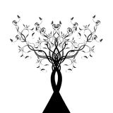 Art Tree Silhouette Stock Photography