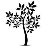 Art Tree Silhouette Royalty Free Stock Photos