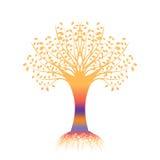 Art Tree Silhouette Stock Photography