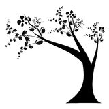 Art Tree Silhouette Royalty Free Stock Image