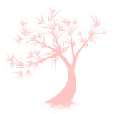 Art Tree Silhouette Royalty Free Stock Photos