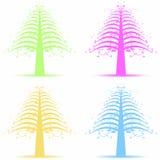 Art trees stock photos