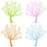 Art trees Royalty Free Stock Photo
